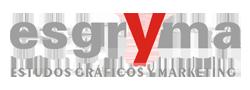 Estudos graficos Marketing Publicidade - Esgryma